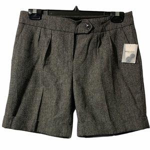 NWT RW&CO. Wool fall shorts